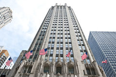 Chicago Tribune Tower Building Royalty Free Stock Image