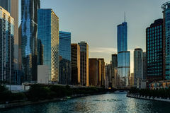 Chicago Trump tower Stock Photography