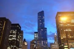 Chicago-Trumpf-Turm Stockbild