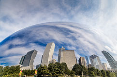Chicago Under the Dome Stock Photography