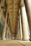 Chicago Union Station. Image of entrance to the Union Station in Chicago, the style in architecture is classic Art Deco Stock Photography