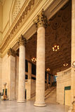 Chicago Union station. Chicago, Illinos. - image of the entrance to the Great Hall of the Union Station in Chicago Stock Images