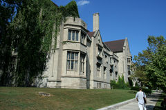 chicago universitetar Royaltyfria Foton