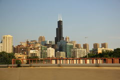 Chicago Urban Agglomeration Stock Photography