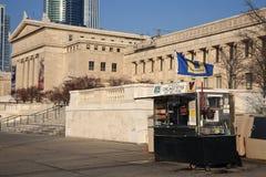 Chicago utformar varmkorvar Royaltyfri Fotografi