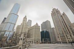 Chicago van de binnenstad Stock Afbeeldingen