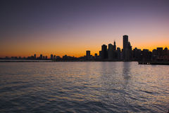 chicago vatten Arkivbild