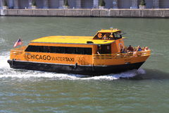 Chicago vattentaxi Royaltyfria Foton