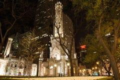 Chicago vattentorn Arkivfoto