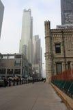 Chicago vattentorn Fotografering för Bildbyråer