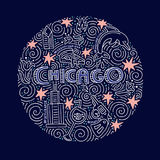 Chicago Vector Concept vector illustration