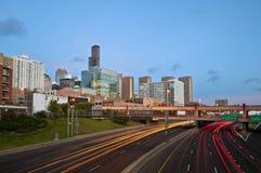 Chicago-Verkehr. Lizenzfreies Stockfoto