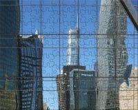 Chicago verwirrte Architektur Lizenzfreie Stockfotografie