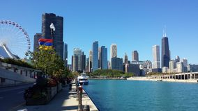 Chicago View Royalty Free Stock Photos
