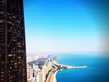 Chicago. View of Chicago Gold Coast stock images