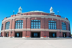 Chicago: view of Navy Pier Headhouse and Auditorium on September 22, 2014 Royalty Free Stock Image