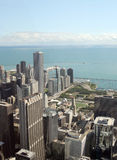 Chicago view from Sears Tower Royalty Free Stock Photo