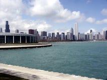 Chicago vom Wasser Lizenzfreie Stockbilder