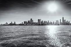 Chicago w Czarny I Biały Obraz Stock