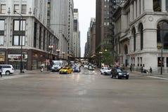 Chicago W Waszyngton ulica fotografia stock