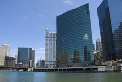 Chicago Wacker Drive Stock Photos