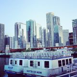 Chicago-Wassertaxi Lizenzfreie Stockfotografie