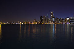 Chicago from water Royalty Free Stock Image