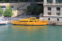Chicago Water Taxi Stock Image