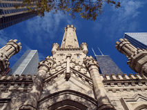 Chicago Water Tower. Chicago's historic Water Tower.  City owned tourist landmark Royalty Free Stock Photos