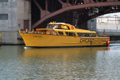 Chicago Watertaxi Stock Photography
