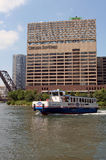 Chicago Watertaxi Immagini Stock