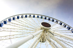 Chicago Wheel At Navy Pier Stock Photos