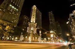 chicago wierza woda Fotografia Royalty Free
