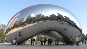 Chicago-Wolken-Tor stock footage