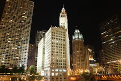 Chicago Wrigley Building Royalty Free Stock Photo