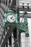 Chicago zegar Zdjęcia Stock