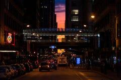 Chicagohenge стоковое изображение rf