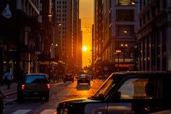Chicagohenge стоковые изображения rf