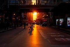 Chicagohenge стоковая фотография