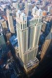 ChicagoHighrises auf dem Gold Coast lizenzfreies stockbild