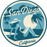 San Diego California postcard. San Diego California USA postcard stock photo