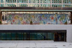 Chicagos Chagall Lizenzfreies Stockbild