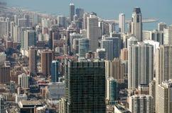 Chicagowscy budynki fotografia royalty free