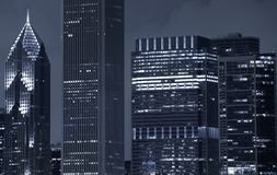 Chicagowscy drapacze chmur Fotografia Stock