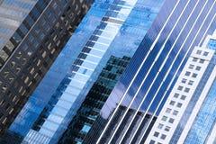 Chicagowscy drapacze chmur abstrakcjonistyczni Obraz Royalty Free