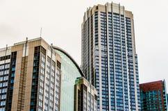 Chicagowscy Highrise budynki Obraz Royalty Free