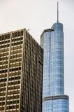 Chicagowscy Highrise budynki Zdjęcia Royalty Free