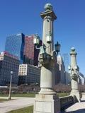 Chicagowscy widoki Obraz Royalty Free