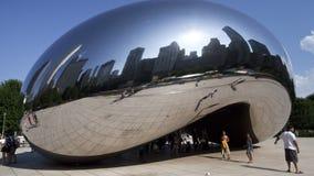 Chicagowska grafika czasu upływ - fasola - zbiory