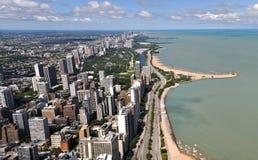 Chicagowska linia horyzontu Zdjęcie Stock